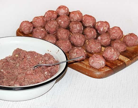 Тефтели под томатным соусом - фото шаг 5