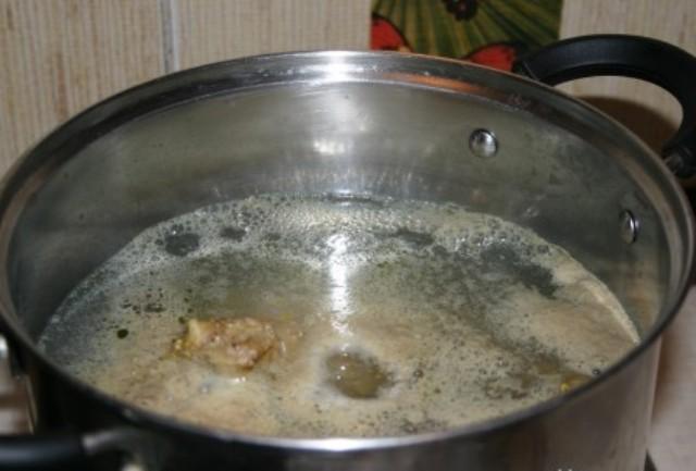 Рецепт Грибная юшка закарпатская