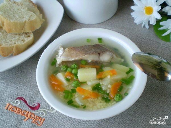 Суп рыбный диетический