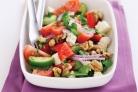 Греческий салат с орехами