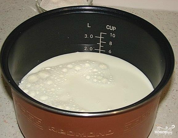 Домашний йогурт в мультиварке - фото шаг 2