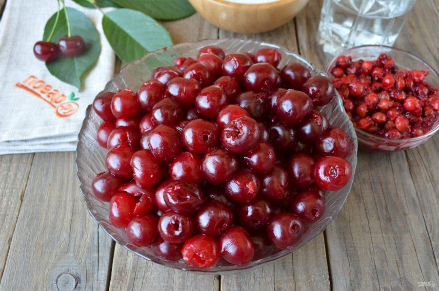 Варенье из вишни на зиму простой рецепт с пошагово