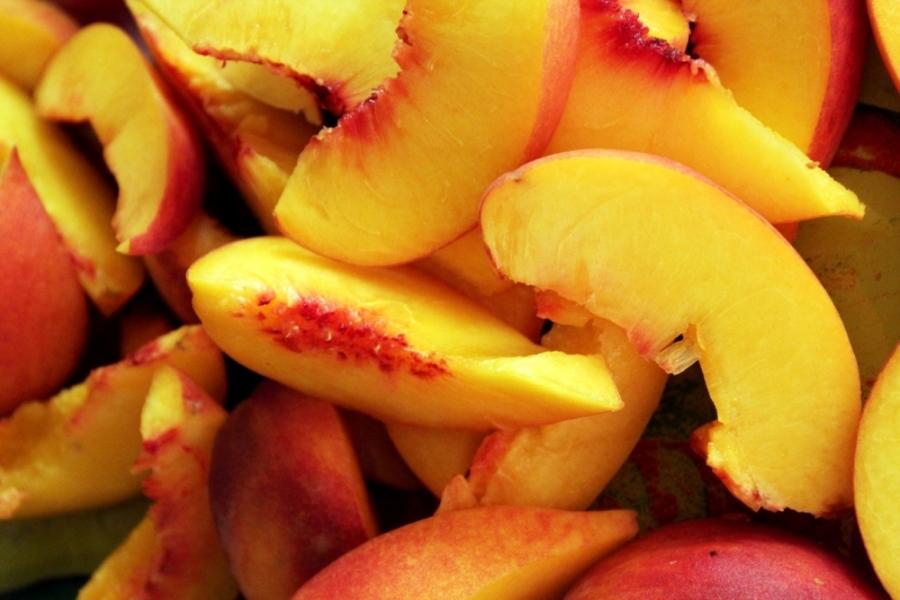 Варенье из персиков в аэрогриле - фото шаг 1