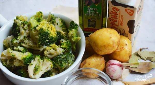 Овощной суп с брокколи - фото шаг 3
