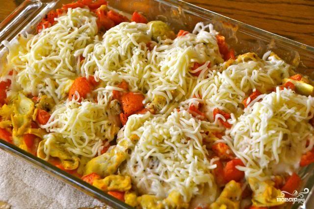 Куриное филе под сыром в духовке  - фото шаг 3