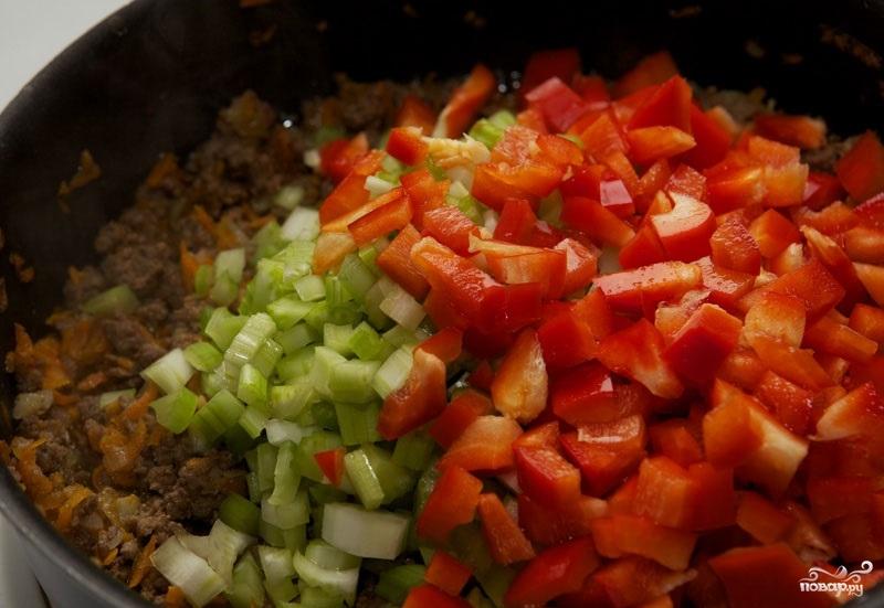 Лазанья с фаршем и овощами - фото шаг 4
