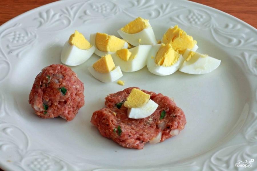 Зразы с яйцом - фото шаг 2