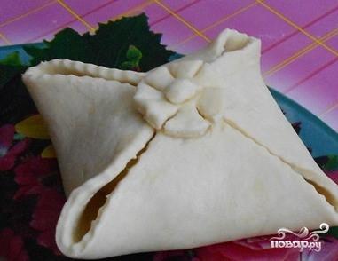 Творожное тесто с яблоками - фото шаг 7