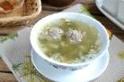 Суп щавелевый с фрикадельками