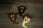 Клубника в шоколаде на Хэллоуин
