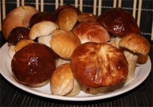 Рецепт Маринованные белые грибы без стерилизации