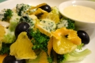 Салат из брокколи с апельсином