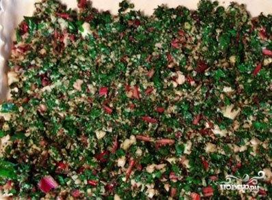 Пирог осетинский с ботвой - фото шаг 3
