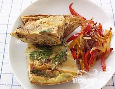 Рецепт Фритата с картофелем и луком