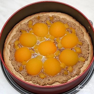 Пирог с грецкими орехами и абрикосами - фото шаг 6