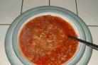 Суп с говядиной и помидорами