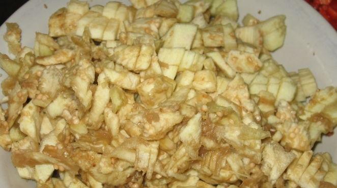 Овощные лодочки из баклажанов  - фото шаг 5