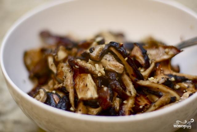 Рецепт Жареные шиитаке