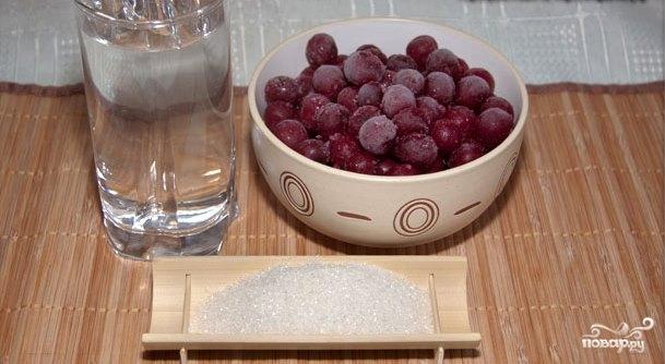 Рецепт Компот из вишни замороженной