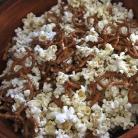 Рецепт Пирожные из попкорна с миндалем