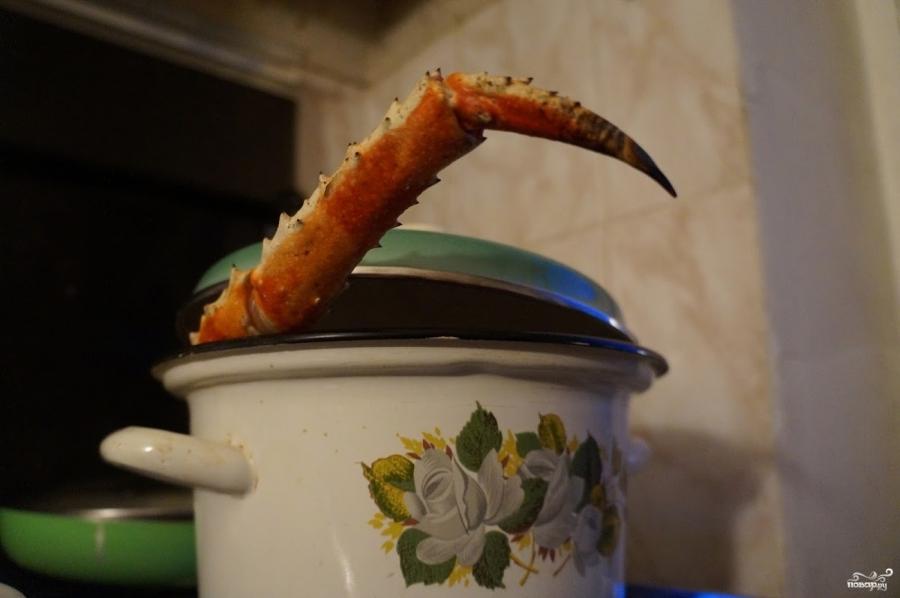 Суп-пюре из крабов - фото шаг 1