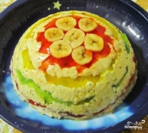 """Торт """"Фруктовое желе"""""""