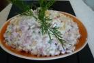 """Салат """"Оливье"""" с копченой колбасой"""