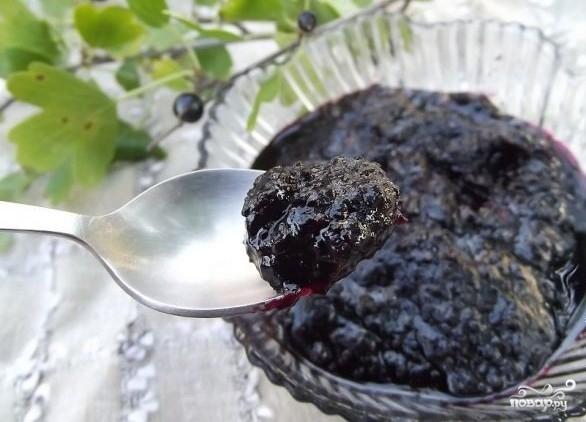 Варенье из смородины перекрученное