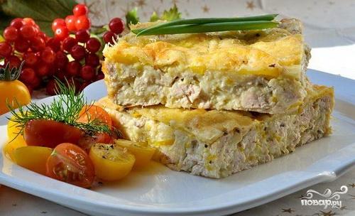 Рецепт Запеканка из кабачков с фаршем