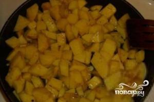 Картофель с баклажанами по-китайски - фото шаг 4