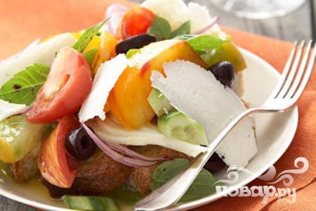Рецепт Итальянский хлебный салат