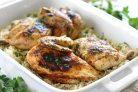 Курица и рис в скороварке