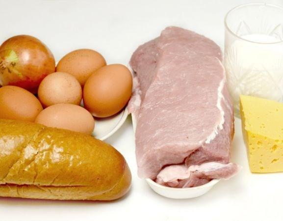 Рецепт Шницель из фарша с яйцом