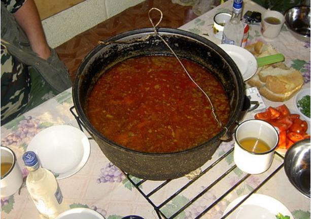 Сорпа из баранины - фото шаг 5