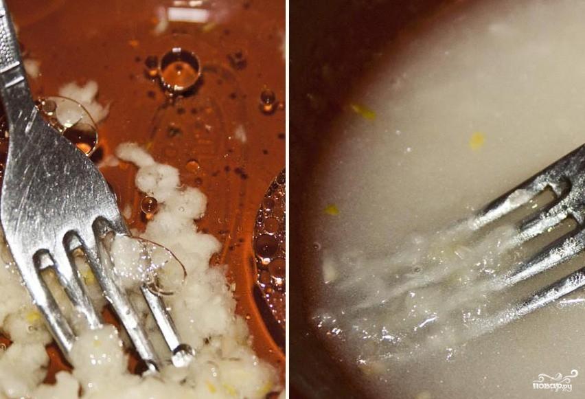 Гренки ржаные с чесноком - фото шаг 4