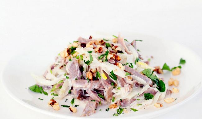 простой салат на стол