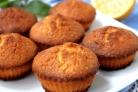 Лимонные кексы в силиконовых формочках