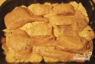 Гусь с картошкой в духовке - фото шаг 5