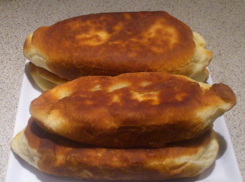 Пирожки с вареньем на сковороде - фото шаг 4