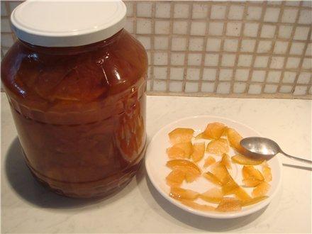 Варенье из яблок цельными дольками - фото шаг 3