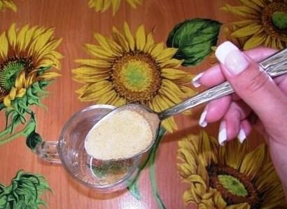 Рецепт Желе из кефира и желатина