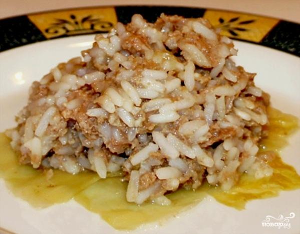 Ленивые голубцы с рисом - фото шаг 7