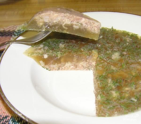 Рецепт Холодец из куриных ножек