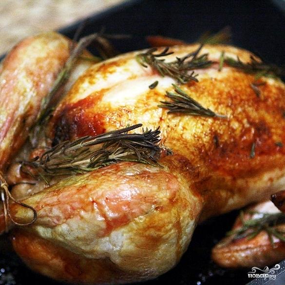 Новогодний цыпленок с финиками - фото шаг 5