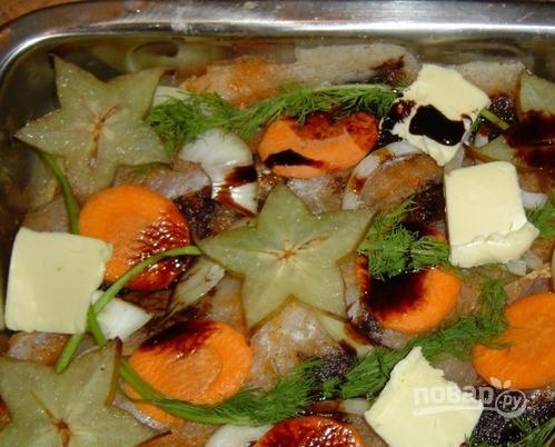 Рыба под соевым соусом - фото шаг 3