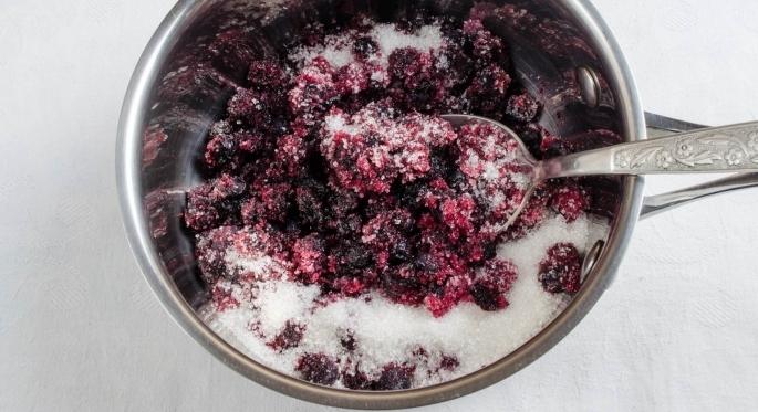Черничный пирог диетический - фото шаг 2