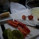 Рецепт Вьетнамский салат с лапшой и креветками