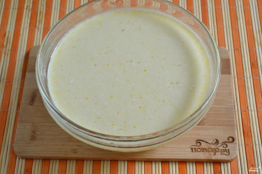 Блины на молоке тонкие - фото шаг 4