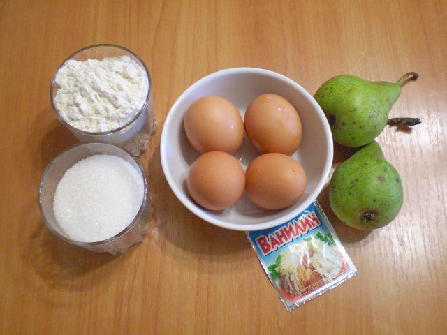 Рецепт Пирог из бисквитного теста с начинкой