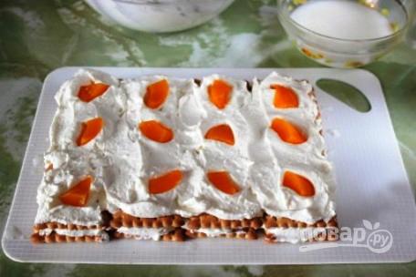 Быстрый творожный торт - фото шаг 5